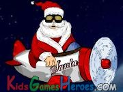 Santa Claus en Avi�n Icon