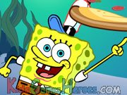 Bob Esponja - Pizza Toss Icon