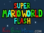 Jugar a:  Super Mario World Flash